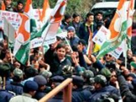 Himachao Pradesh on the boil over Youth Congress and ABVP clash